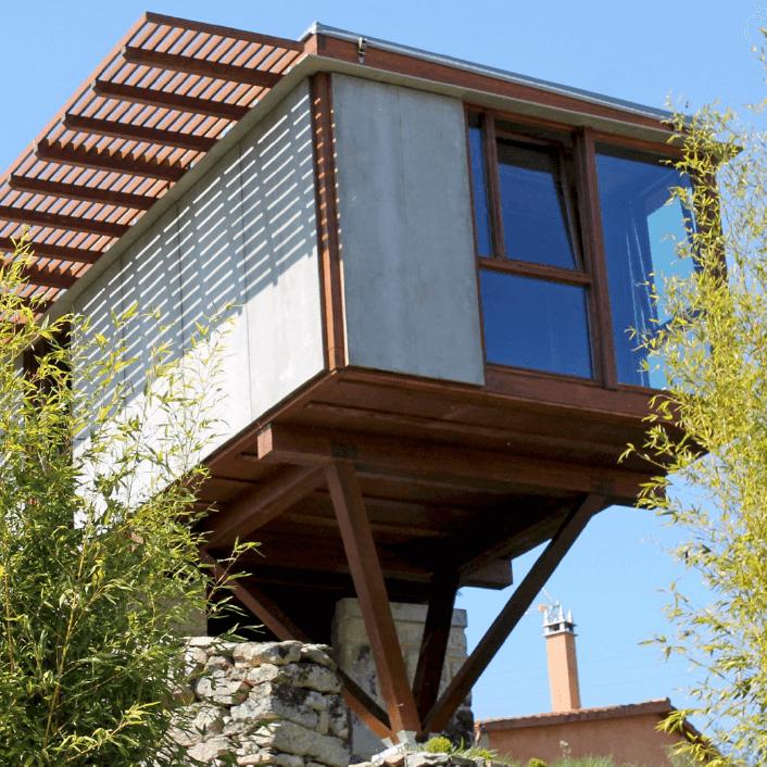 casas de madera en galicia